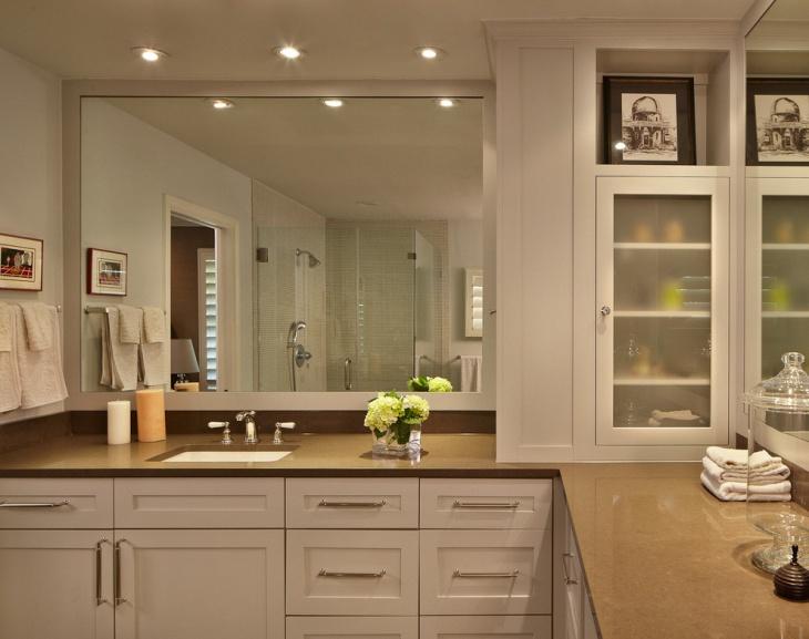 Corner Designed Vanities Bathroom