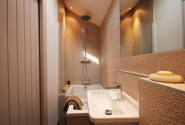 ensuite configured Bathroom design