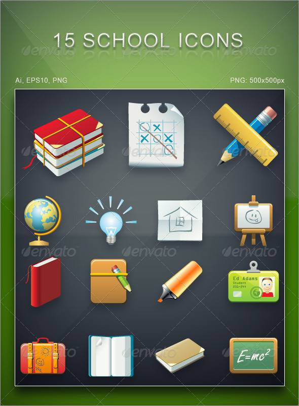 necessary school icons1