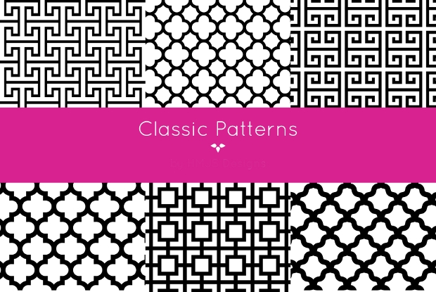 Classic Timeless Monochrome Patterns