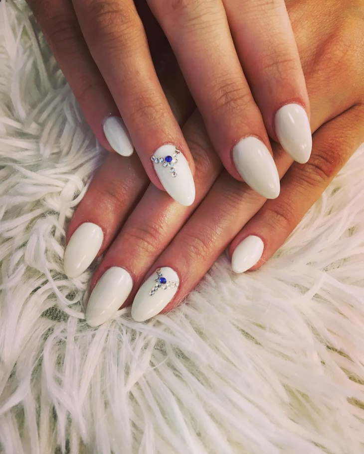 21 two tone nail art designs ideas design trends for Classy designs