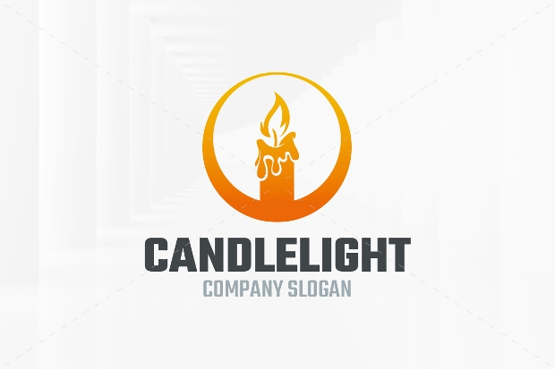 candle light logo