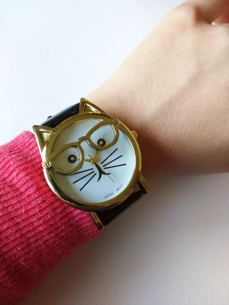 Creative Cat Dial Watch