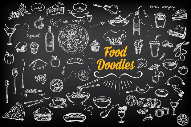 Food Doodle Icons