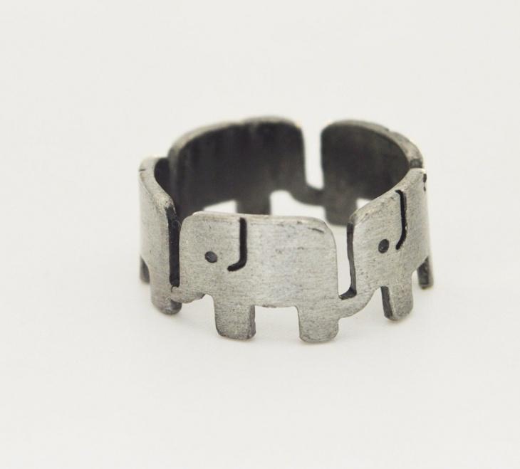 elephant animal ring idea
