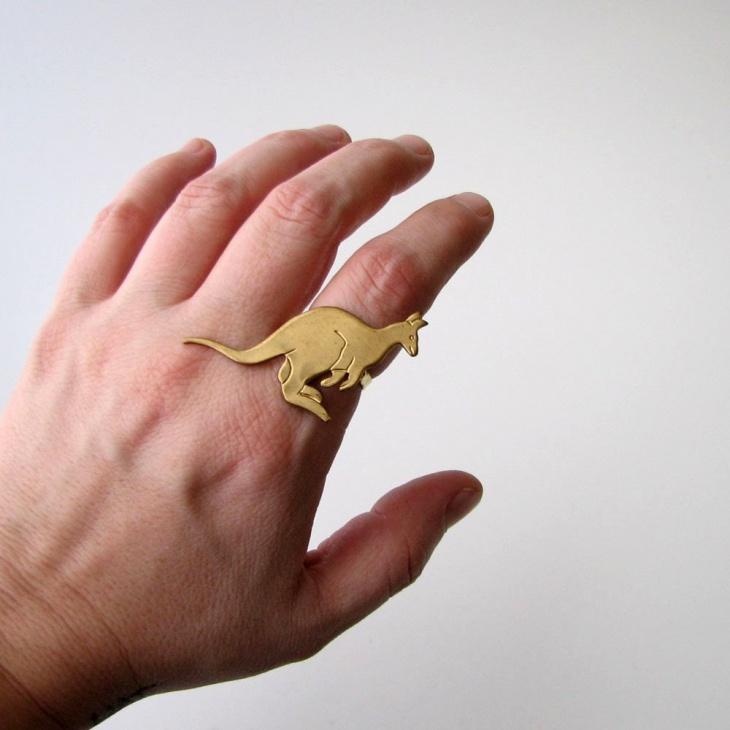 kangaroo animal ring