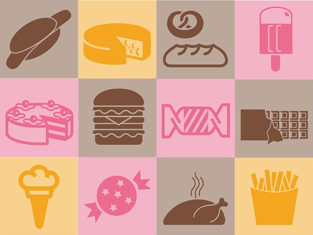 Yummy Food Vector Icons