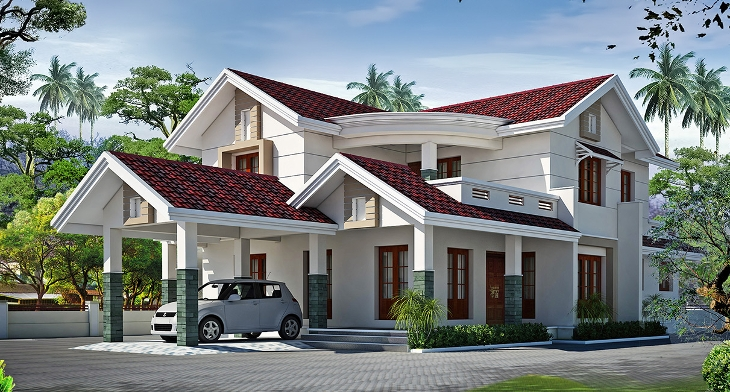 Home Design Ideas For Small Houses: 18+ Small Villa Designs, Ideas