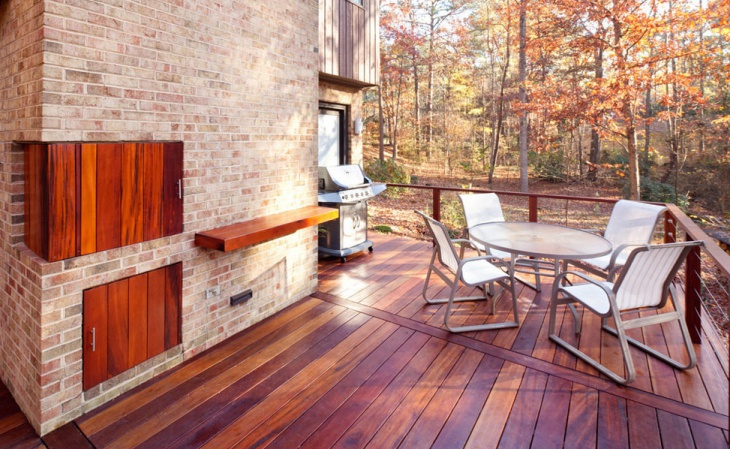 outdoor deck wood flooring