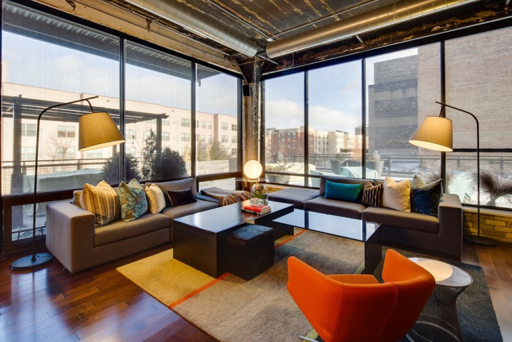 20 Loft Living Room Designs Ideas Design Trends