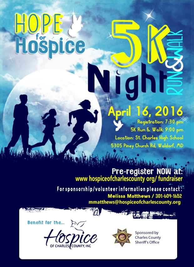 hospice fundraising flyer