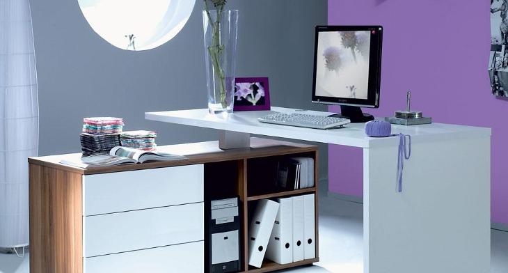 17 minimalist computer desk designs ideas design. Black Bedroom Furniture Sets. Home Design Ideas