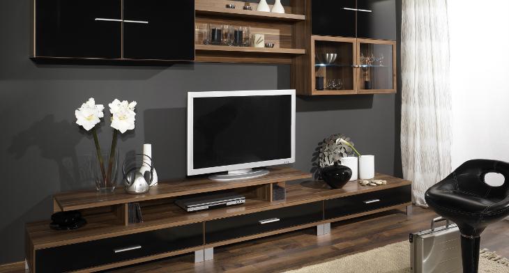 19+ Wooden Wall Unit Designs, Ideas | Design Trends ...