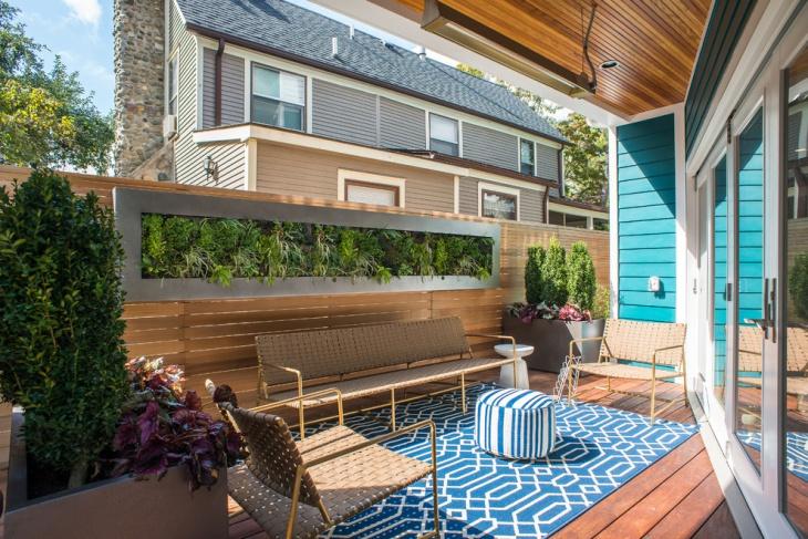 outdoor living compact idea