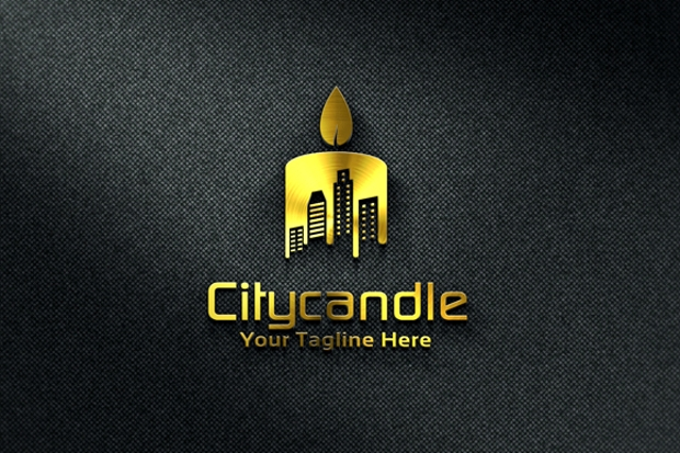 city candle logo