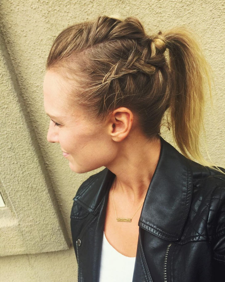 21 Braided Ponytail Hairstyle Ideas Designs Design