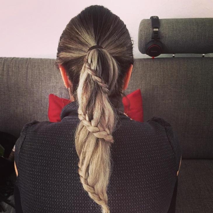 Long Hair Ponytail Idea