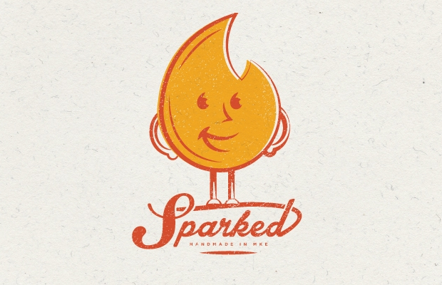 sparked candle logo
