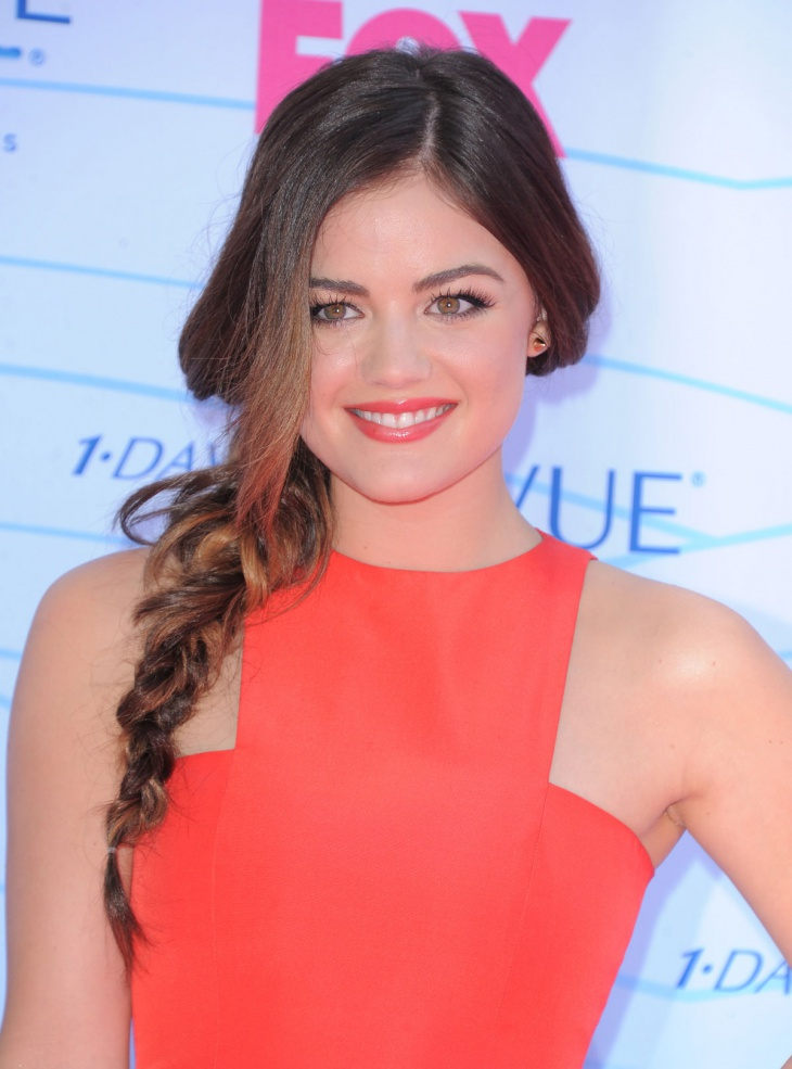 Lucy Hale Simple Side