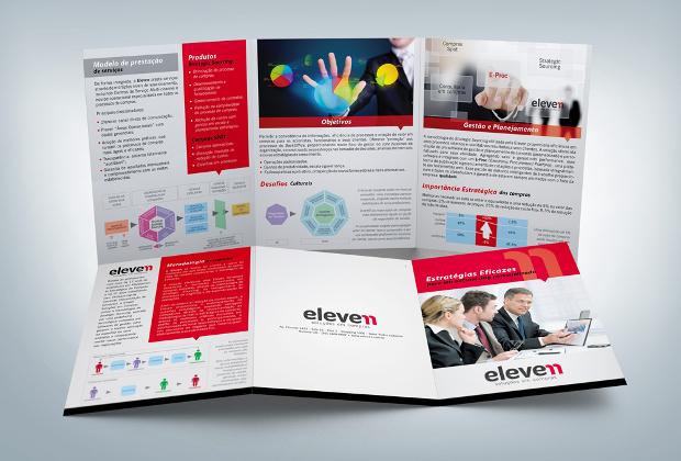 High Resolution Advertising Brochure