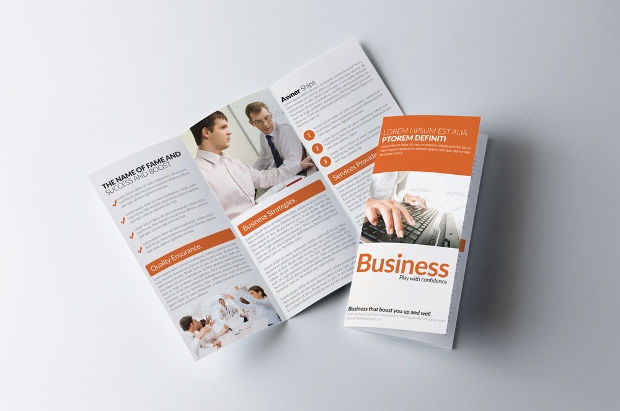 Small Business Advertising Brochure