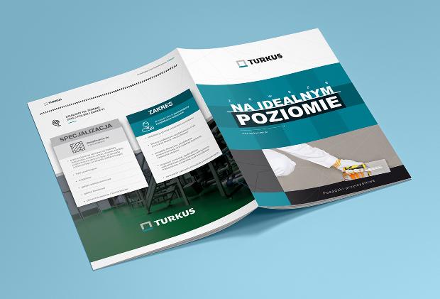 Turkus Brochure Design