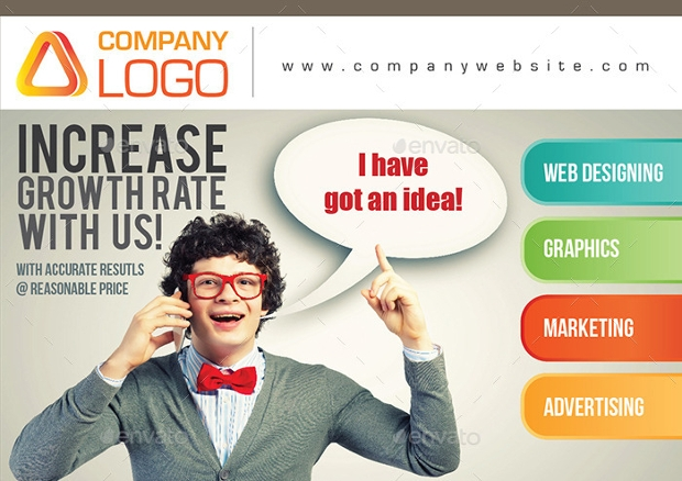 A5 Landscape Advertising Brochure