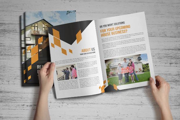 Real Estate Advertising Brochure