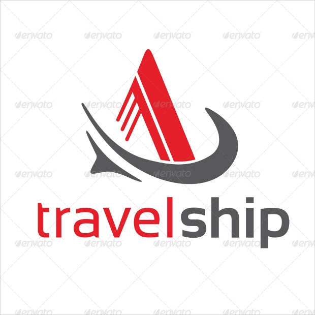 Travel Ship Logo Design