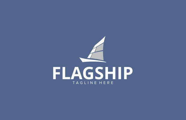 Flag Ship Logo Idea