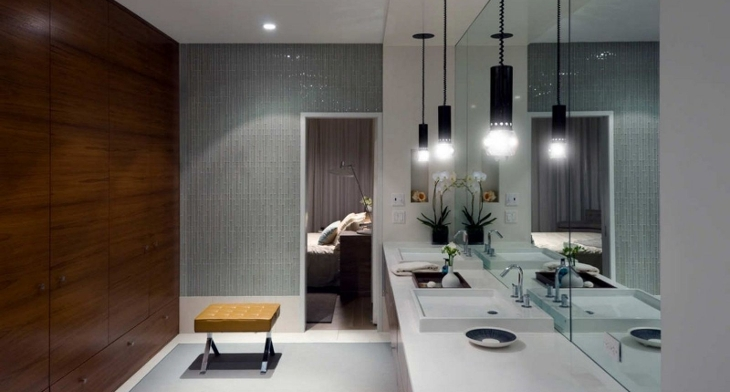 17 bathroom pendant lighting designs ideas design trends img placing the proper bathroom lighting mozeypictures Image collections