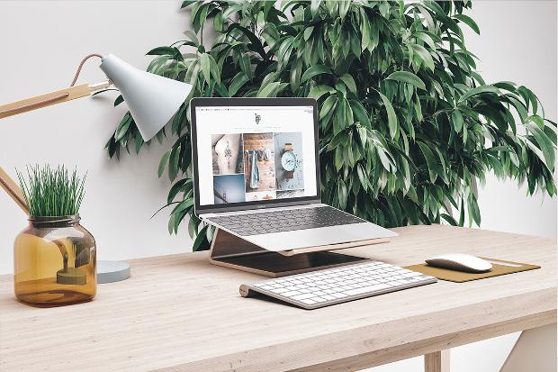 workspace mockup template design