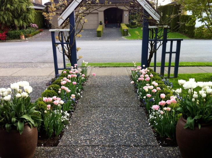 Entry Rose Garden