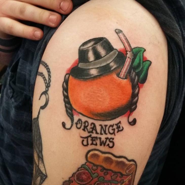 Fruit Sleeve Tattoo Design