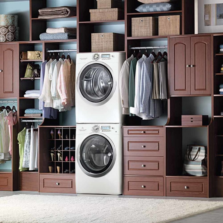 Laundry Room Storage Idea