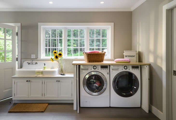 laundry room sink design