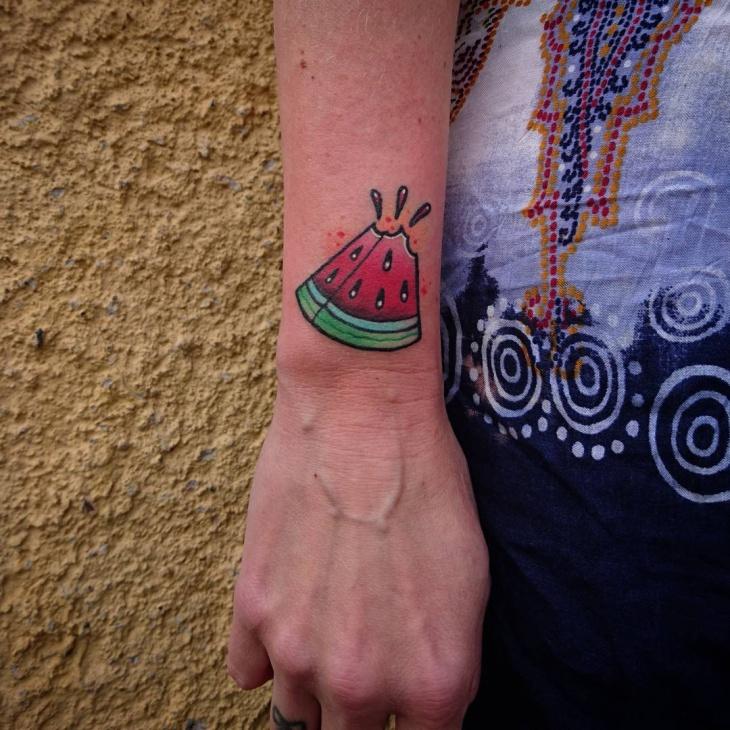 Juicy Fruit Tattoo Design