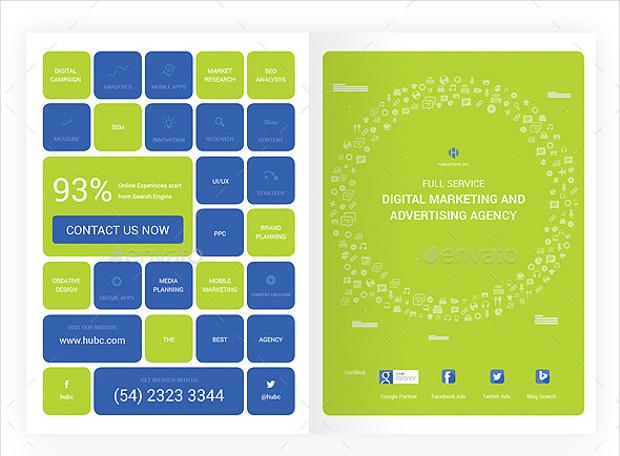 Digital Marketing and Advertising Brochure