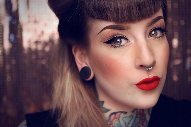 dita von teese vintage makeup