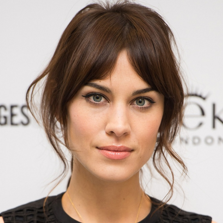 Alexa Chung Simple Eye Makeup