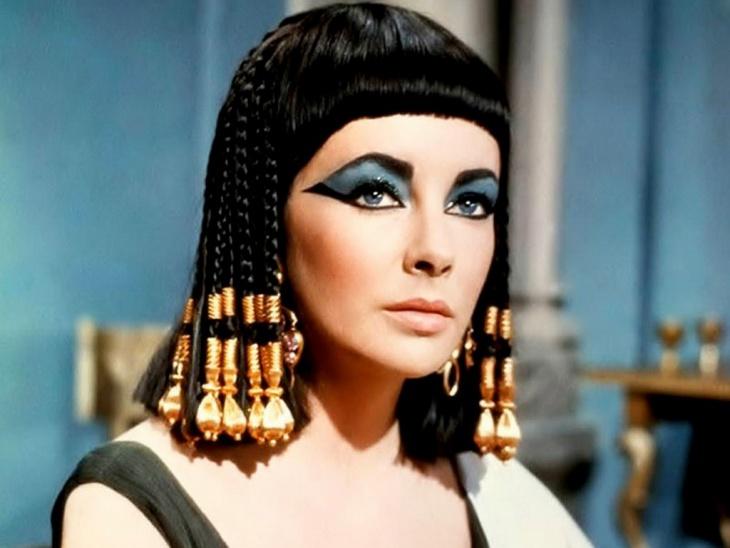 elizabeth taylor cleopatra eye makeover