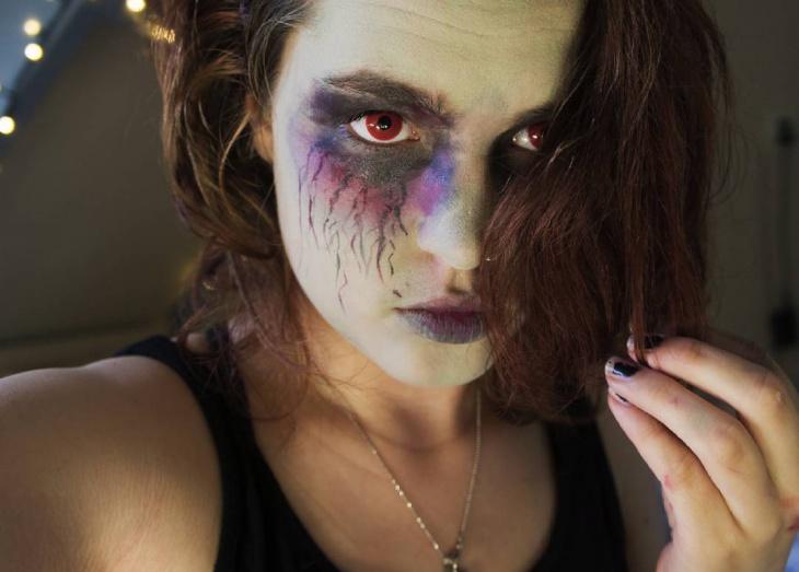 Zombie Makeup Design