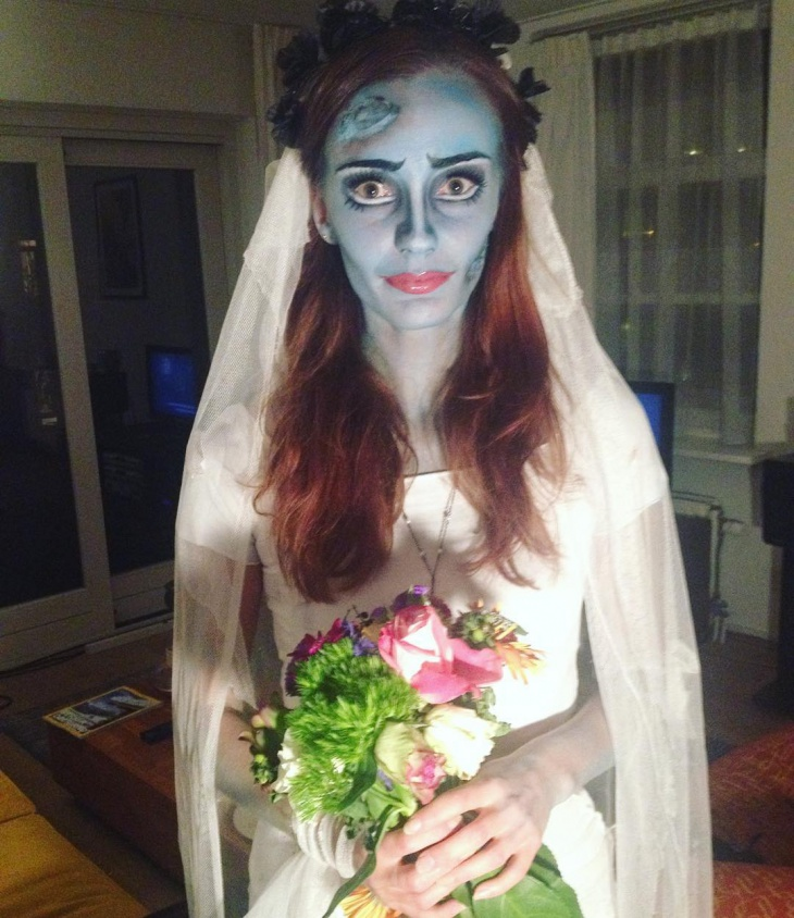 Scary Bride Makeup