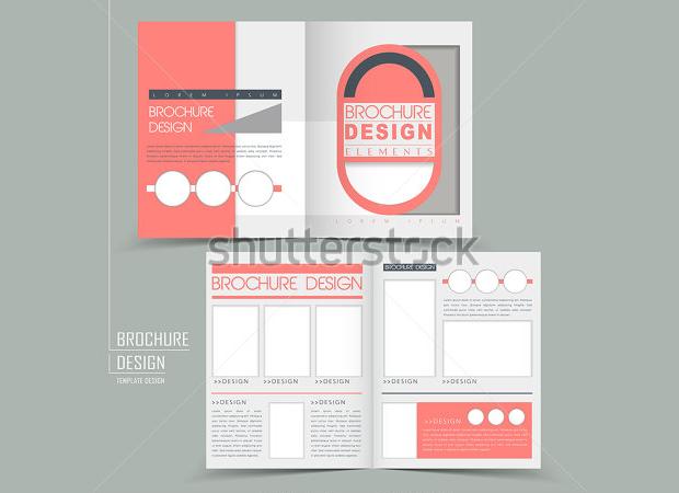 Geometric Style Bi-Fold Brochure