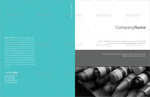 Formal Half Fold Company Brochure