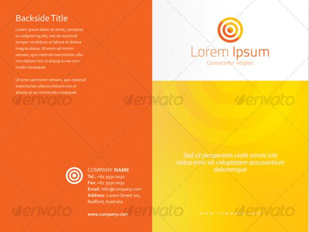 Professional Bi-Fold Brochure Design