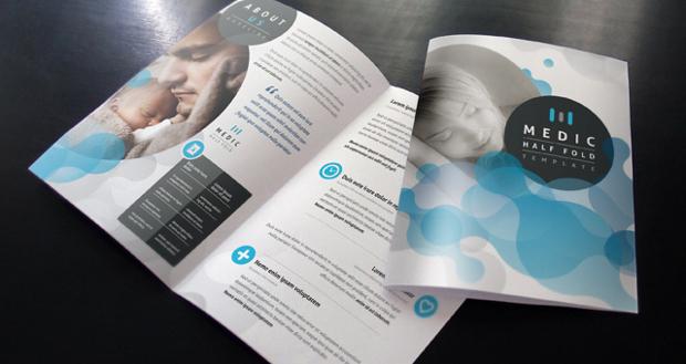Medic Bi Fold Brochure Template