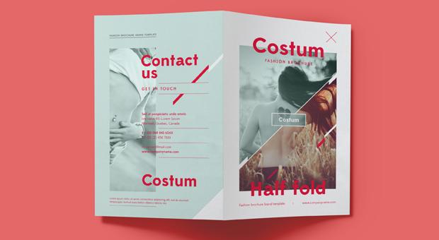Bi Fold Brochure Template Design