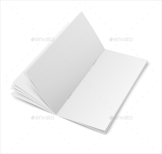Multi Pages Blank Brochure