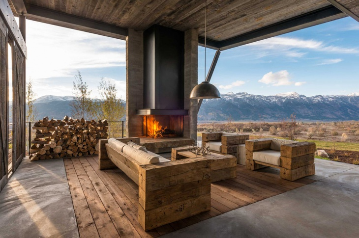 oak wood furniture design